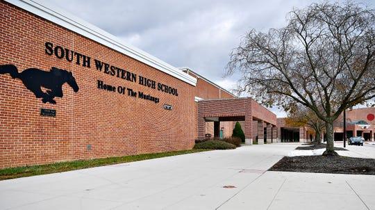 South Western High School in Penn Township, Tuesday, Nov. 20, 2018. Dawn J. Sagert photo