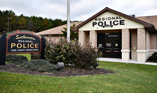 Southwestern Regional Police Department in Heidelberg Township, Tuesday, Nov. 20, 2018. Dawn J. Sagert photo