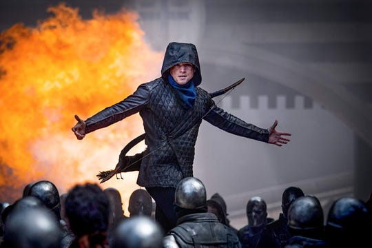 "Taron Egerton stars in ""Robin Hood."" The movie is playing at Regal West Manchester Stadium 13, Frank Theatres Queensgate Stadium 13 and R/C Hanover Movies."