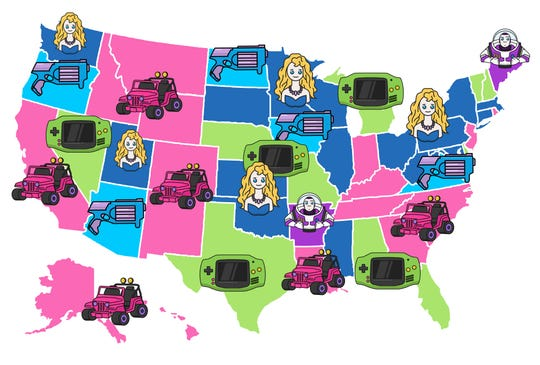 All Home Connections did a study that proves every state still has a favorite toy from the 90s.