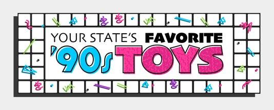 Favorite 90s Toys Heading