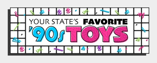 Favorite 90s Toys Heading