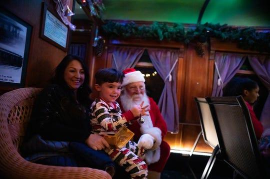 V&T Railway's The Polar Express kicked off its 9th season in November