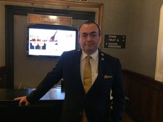 Alan MacDougal, senior concierge at the Grand Central.