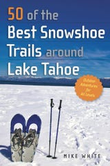 Snowshoe guidebook cover.