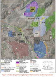 Preferred alternative for the proposed expansion of Fallon NAS