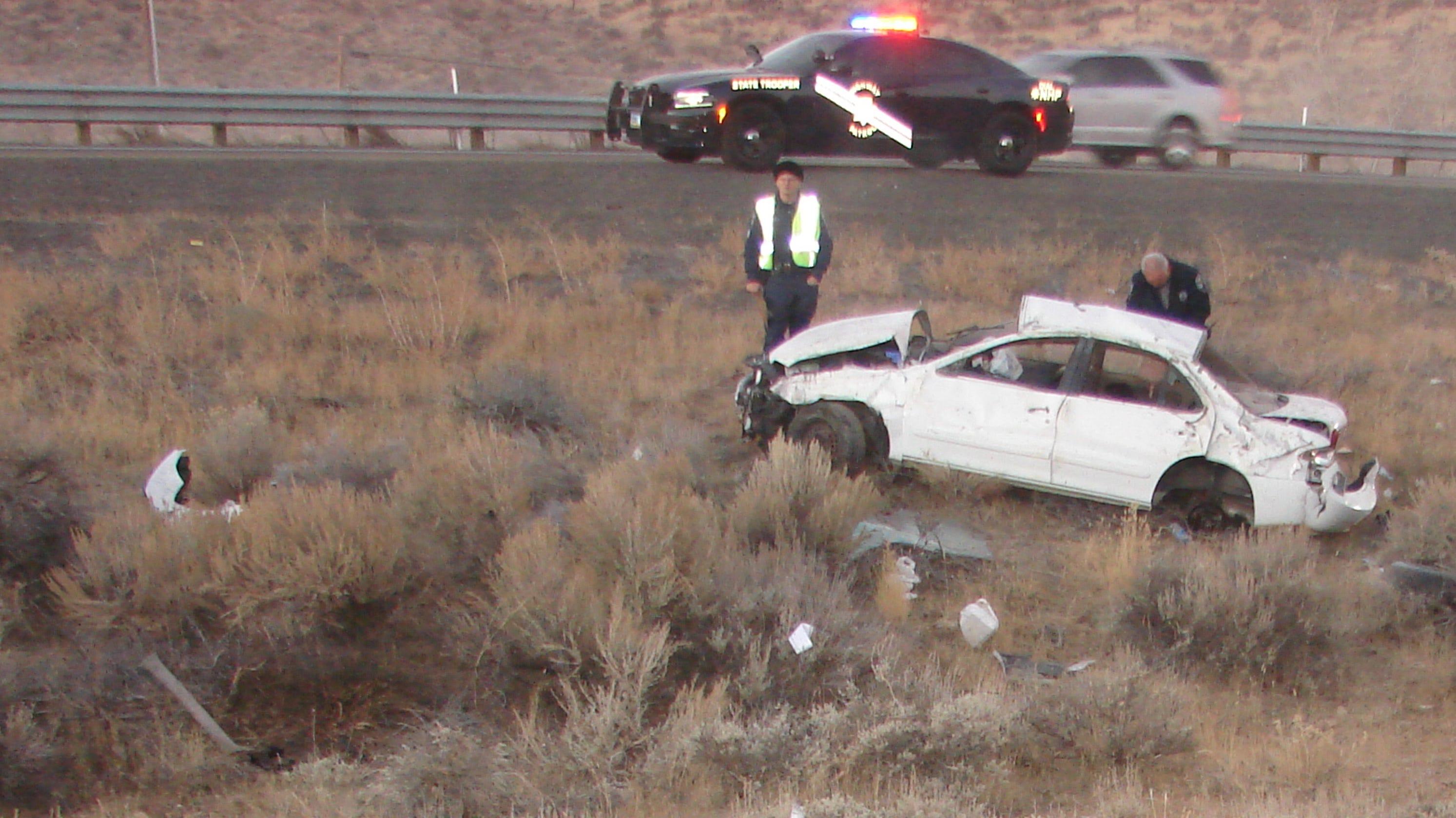 NHP releases more details on fatal U S  395 crash