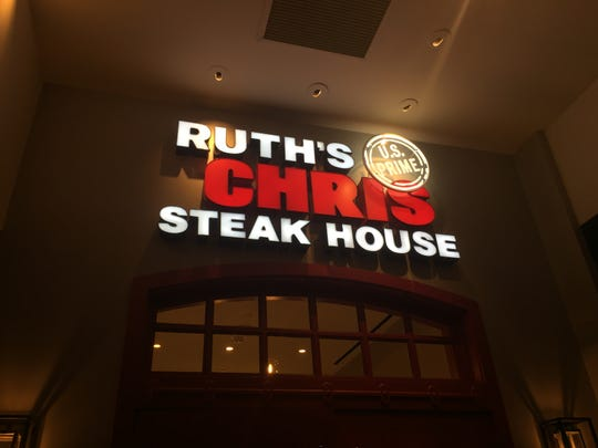 The new Ruth's Chris Steak House encompasses nearly 7,300 square feet in the former Sterling's in the Silver Legacy in downtown Reno.