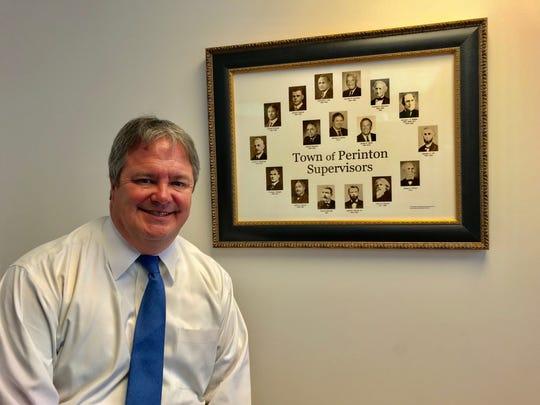 Former Perinton Town Supervisor Mike Barker.
