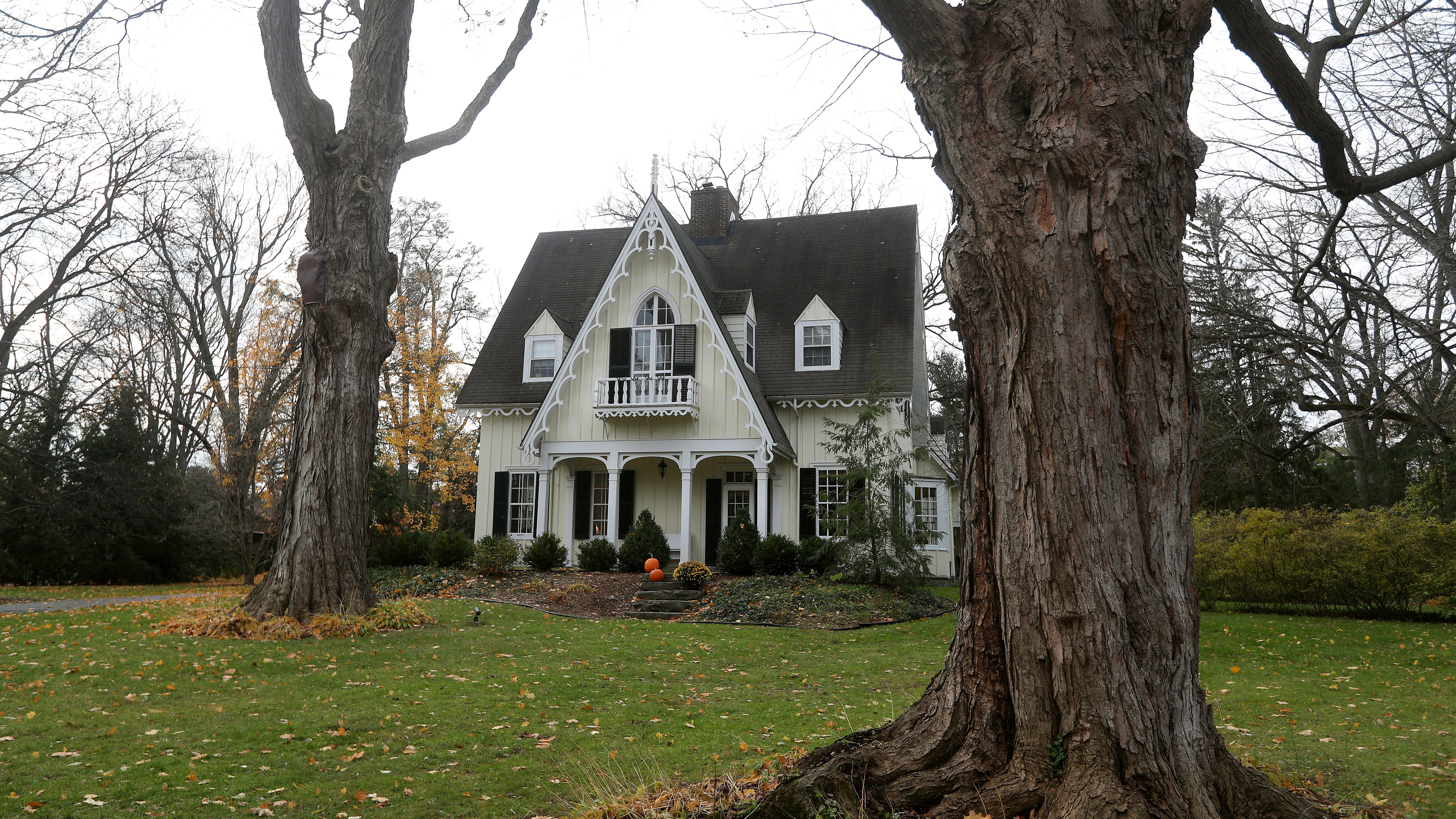 This Gothic home in the Village of Pittsford hit the market for $1,179,000.