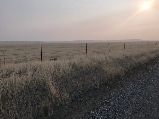 Vast stretches of grassland make up the drive to Rancho Tehama, where a shooter killed five people and then himself last November.