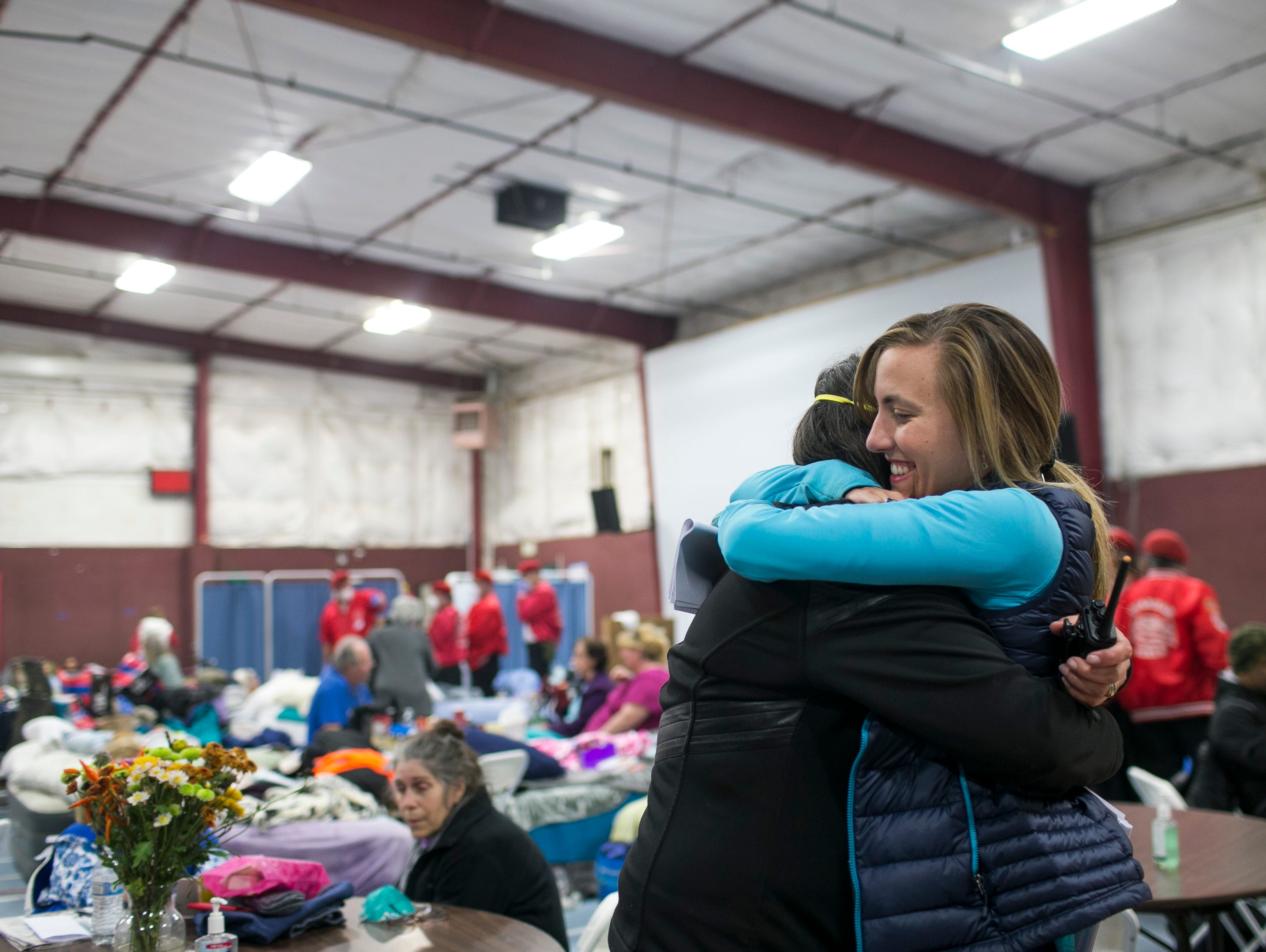 Camp Fire evacuees: East Avenue Church Shelter