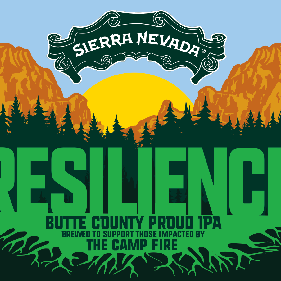 The Sierra Nevada Brewing Co. is asking breweries across the country to join its Camp Fire fundraiser by making and selling Resilience Butte County Proud IPA.