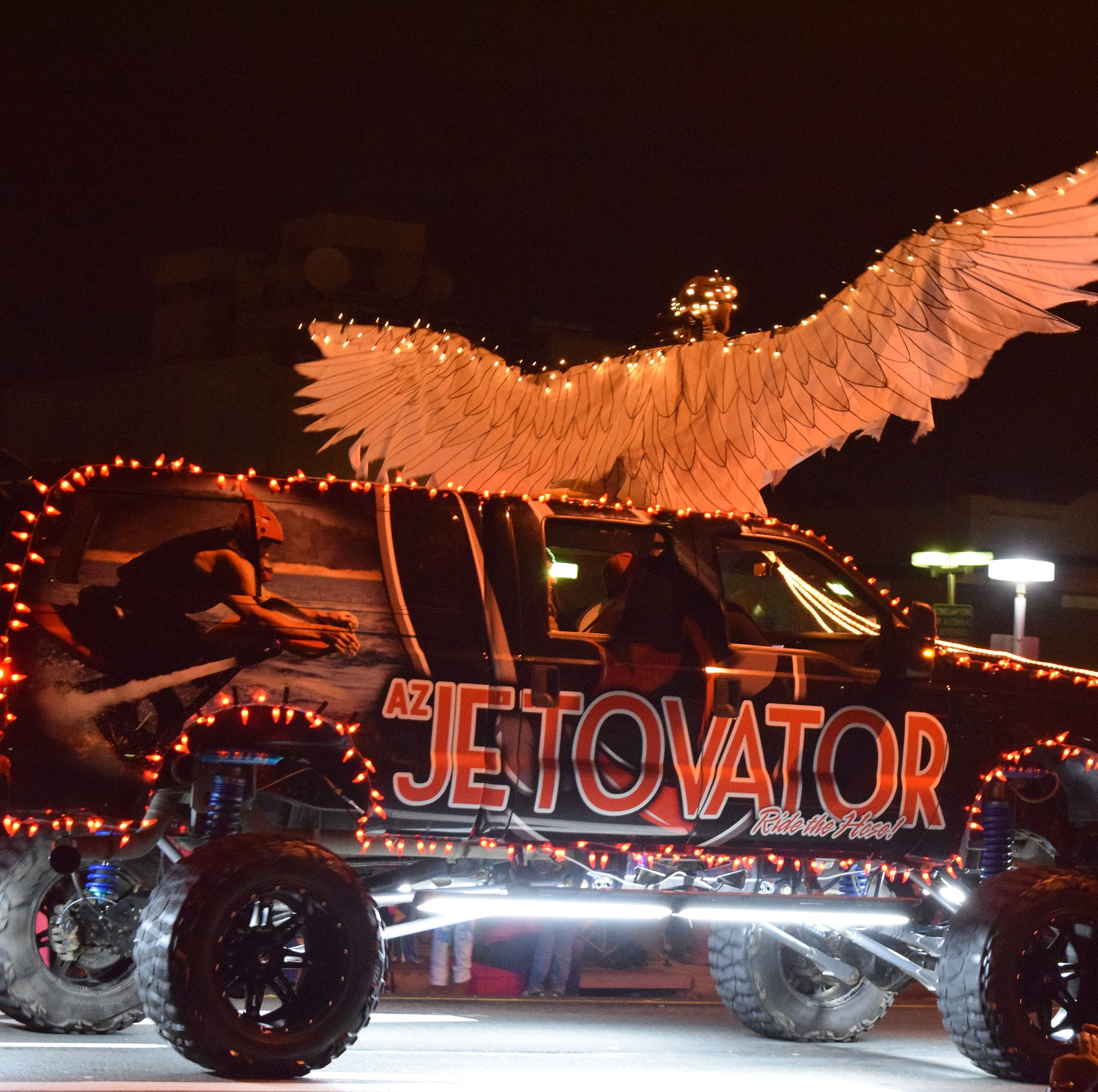 Redding's Lighted Christmas Parade dials up wattage this year with first responders