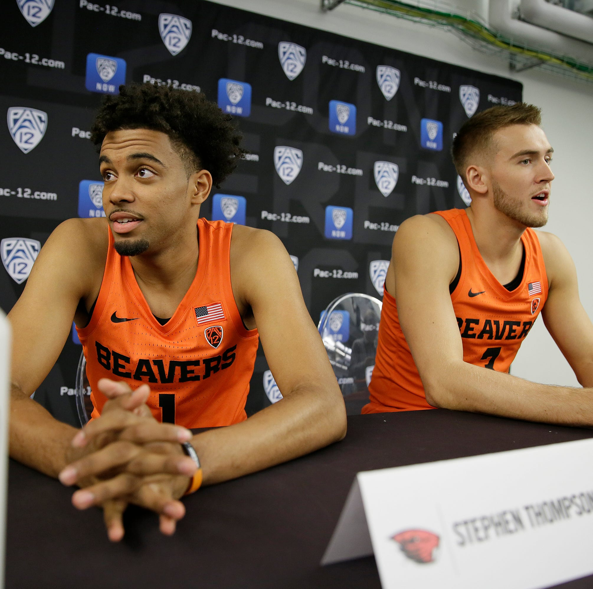 Tinkle, Thompson lead Oregon State over Penn in Paradise Jam