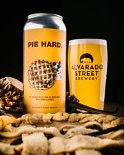 Pie Hard, an Alvarado Street Brewery seasonal beer pairs well with Thanksgiving dinner, says co-founder J.C. Hill.
