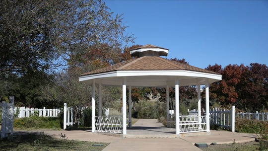 The Gazebo at Rio Concho Park.