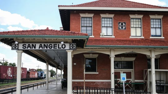 Railway Museum of San Angelo is at 703 S. Chadbourne St.