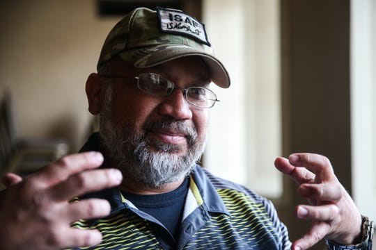 Richard Quinones recalls his military duty that lead him to West Texas Counseling and Guidance Center.