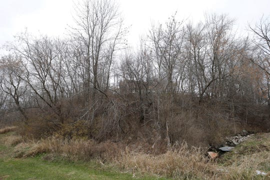 Jalopy Jungle, a farm and business, once stood at 2215 Mill Road in Sheboygan.  Today, a home is at that same location. This photo was taken Tuesday Nov. 20, 2018, from the Pigeon River side of the property.