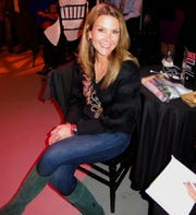 Holly Roca at Sky Sponsor Party.