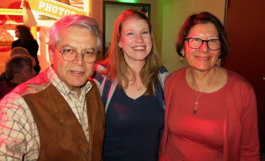 Dr. Anil Chhabra, Times Features Editor Michele Marcotte, Dr. Neera Chhabra at Sky Sponsor Party