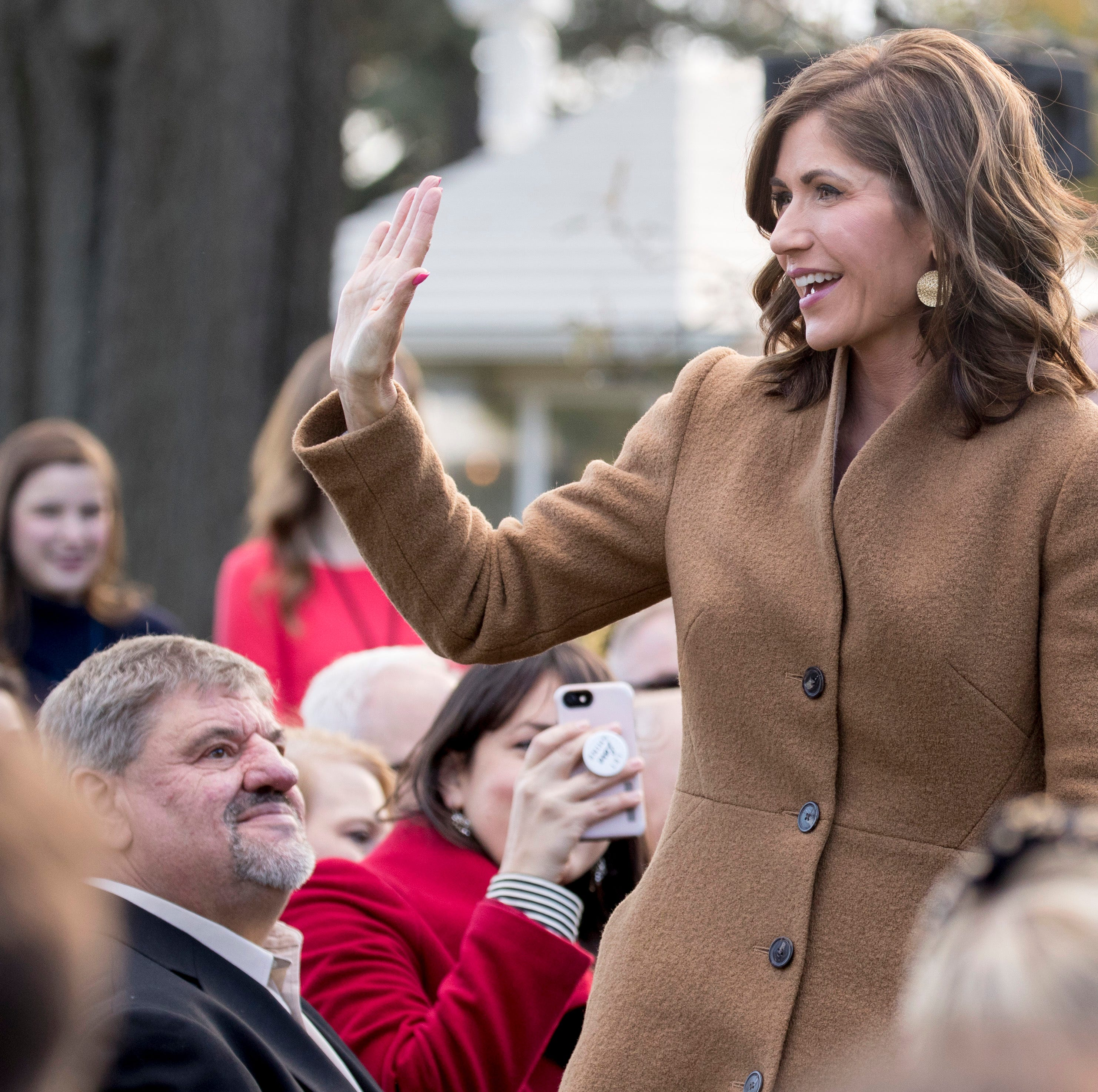 Yes, it's legal for Kristi Noem to hire her daughter to work in the governor's office