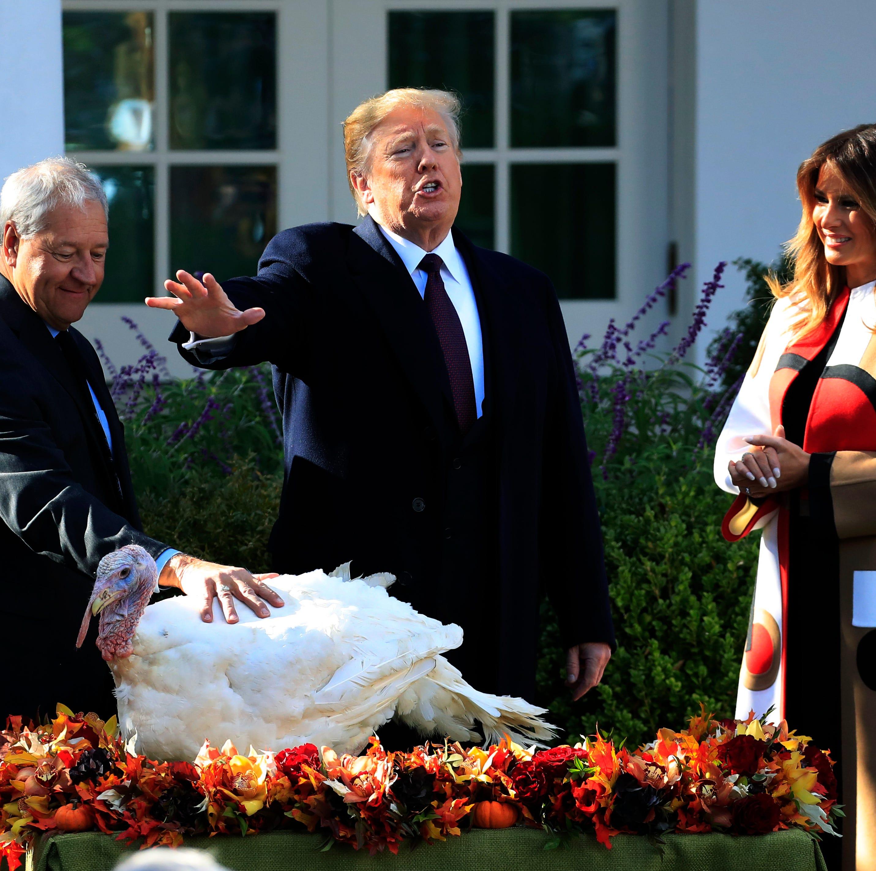 Trump's turkey pardon: South Dakota birds get spotlight at White House