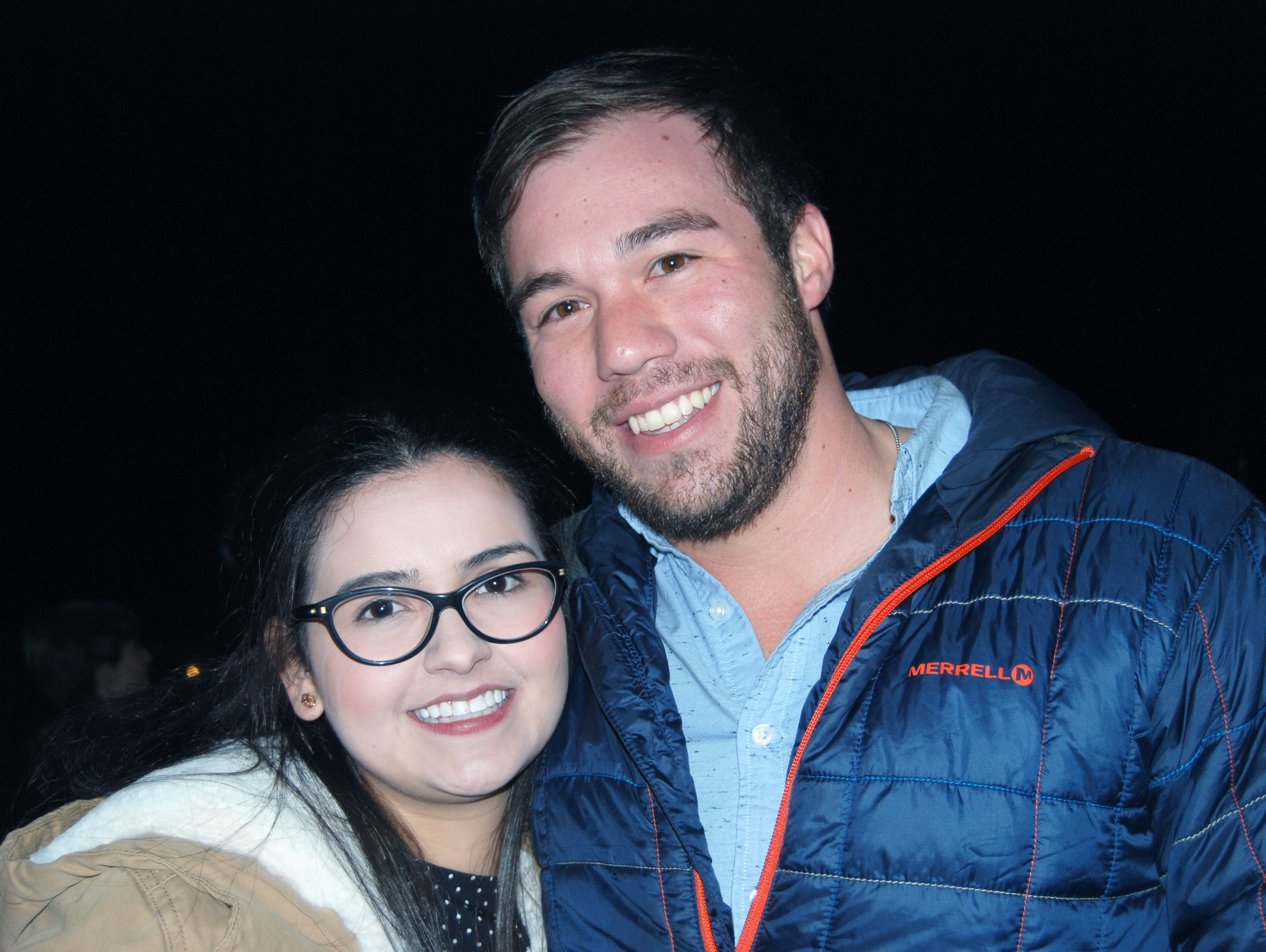 Ziara Sandoval and Andrew Chavez