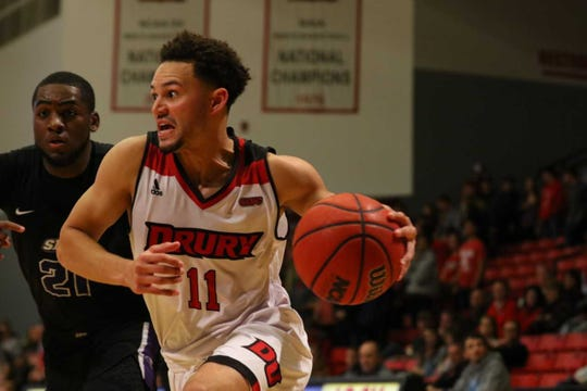 Senior guard John Williams is averaging 7.8 points and 4.8 rebounds for Drury (3-3).