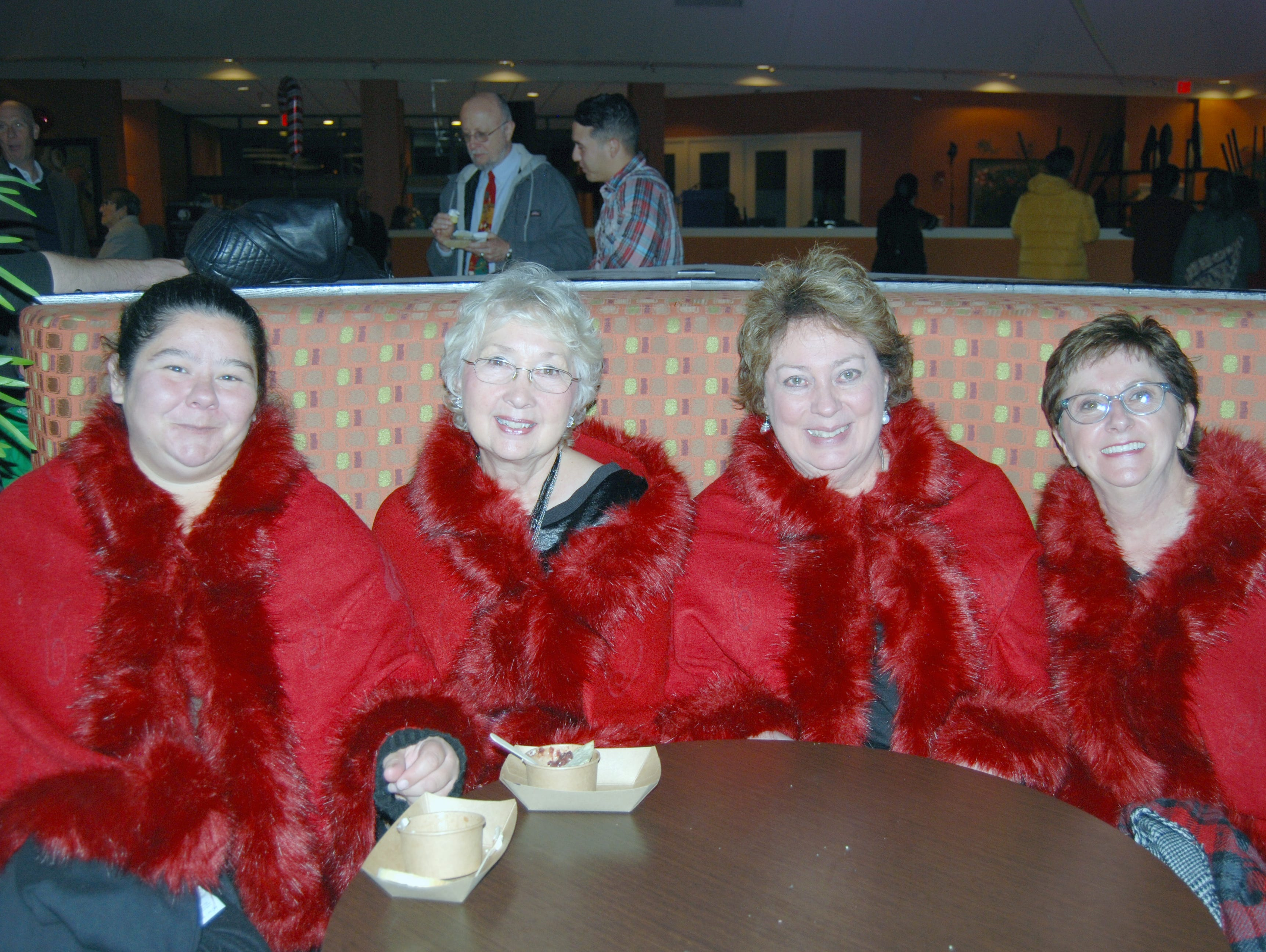 Louise Stanley, Julie Hakensmith, Cindy Griot and Regina Bohannan
