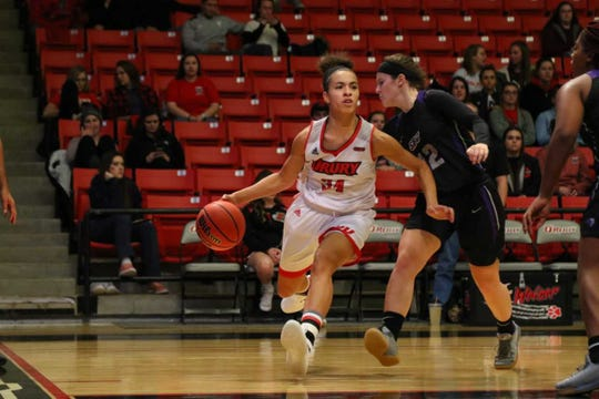 Hailey Diestelkamp is a big reason why the Drury Lady Panthers are one of the top Division II women's basketball teams in the country.