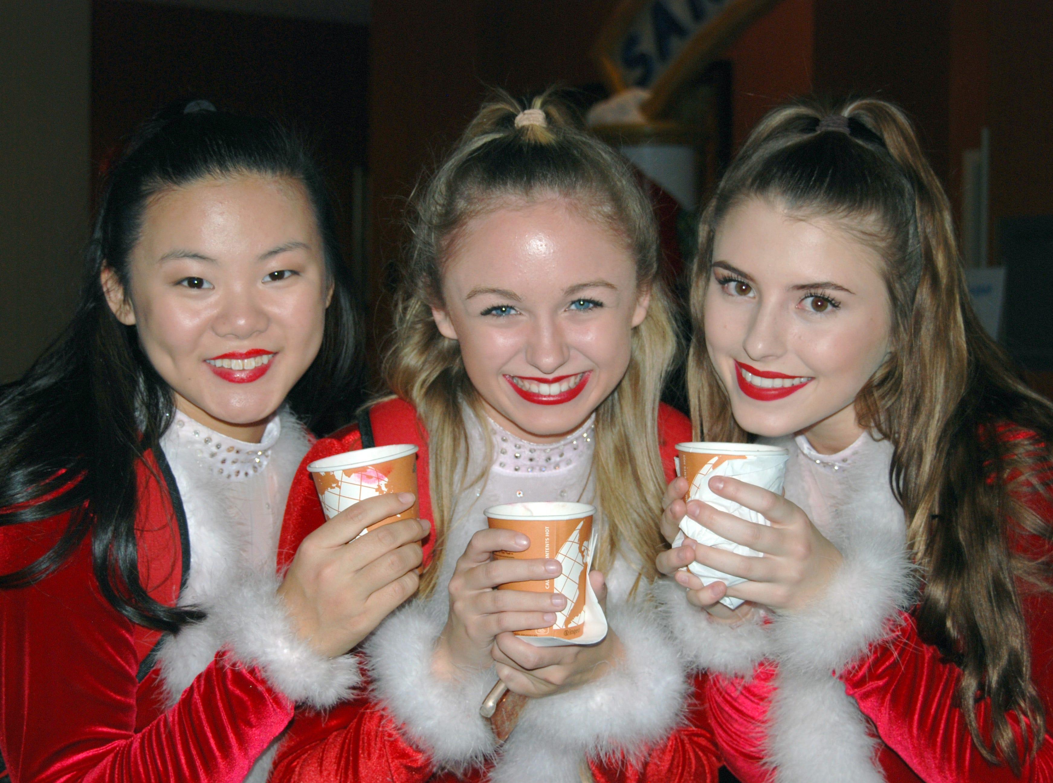 Lily Prescott, Emily Oliver, Quiera Pendergrass