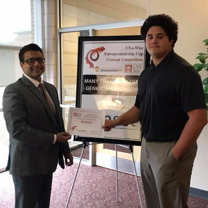 Casey Taylor wins UVa-Wise entrepreneurial competition