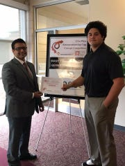 Lee High grad Casey Taylor was the winner of the UVa-Wise Entrepreneurship Cup Concept Competition.