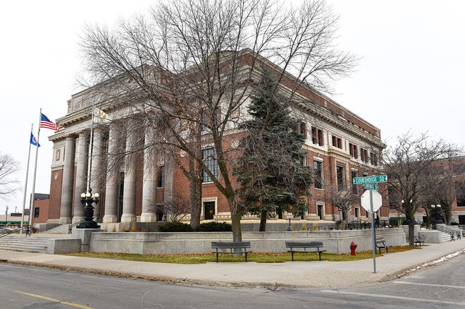 The Stearns County Courthouse is shown Tuesday, Nov. 20, in St. Cloud.