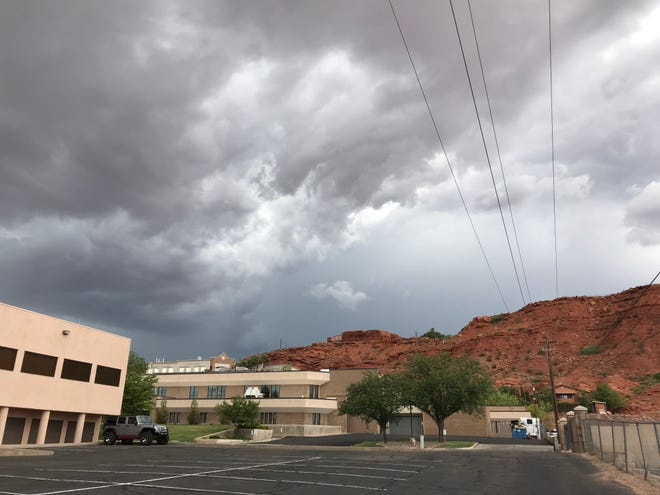 Rain, thunderstorms and cooler temperatures are expected to arrive Wednesday in southwest Utah.
