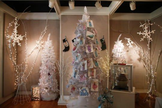 The LeMoyne Art Gallery holiday art show opens Thursday, Nov. 22, Thanksgiving night.