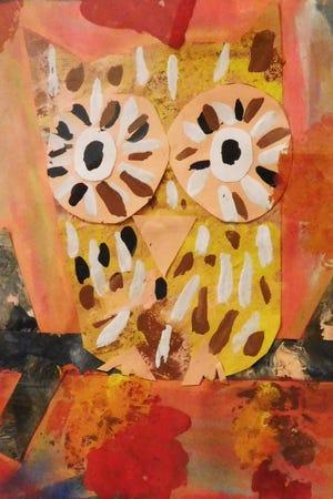 Autumn Owl by Elizabeth Powell, a first-grader at Hawks Rise1.jpg