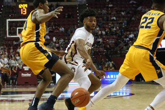 The Florida State Seminoles host the Canisius Golden Griffins for basketball in the Tucker Civic Center, Monday, Nov. 19, 2018.