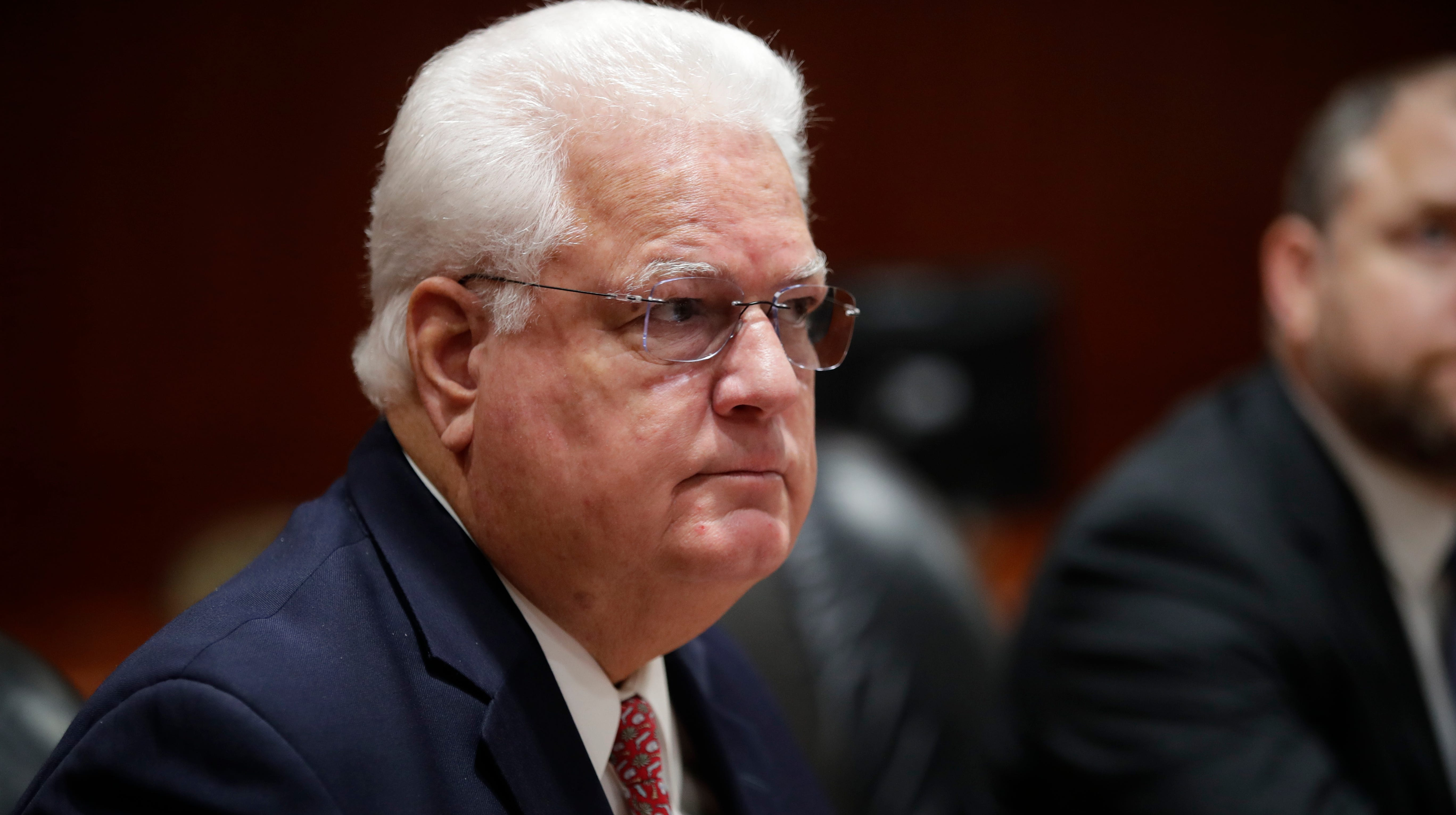 Florida Secretary of State Ken Detzner speaks during the certification of the 2018 general and special election results at the Florida State Capitol Tuesday, Nov. 20, 2018.