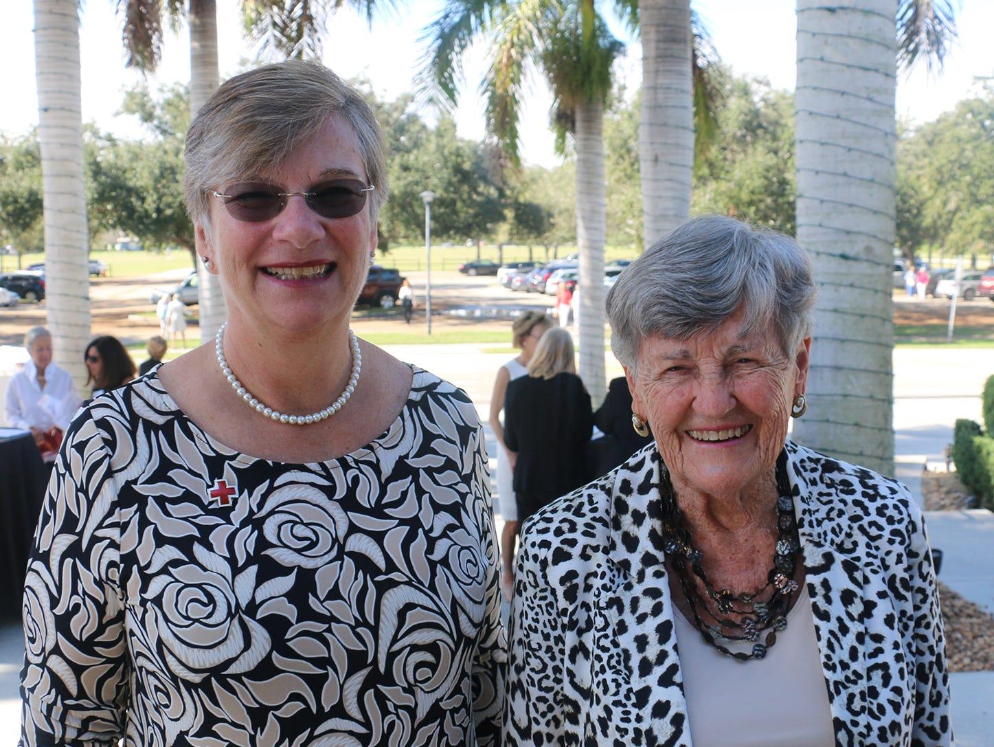 Sarah Ruwe and Mary Ellen Replogle