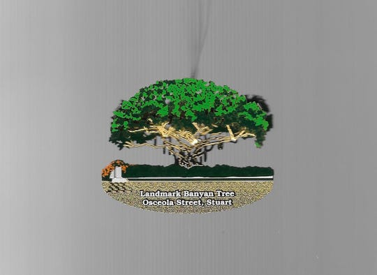 The 2018 Ornament: the Banyan Tree.