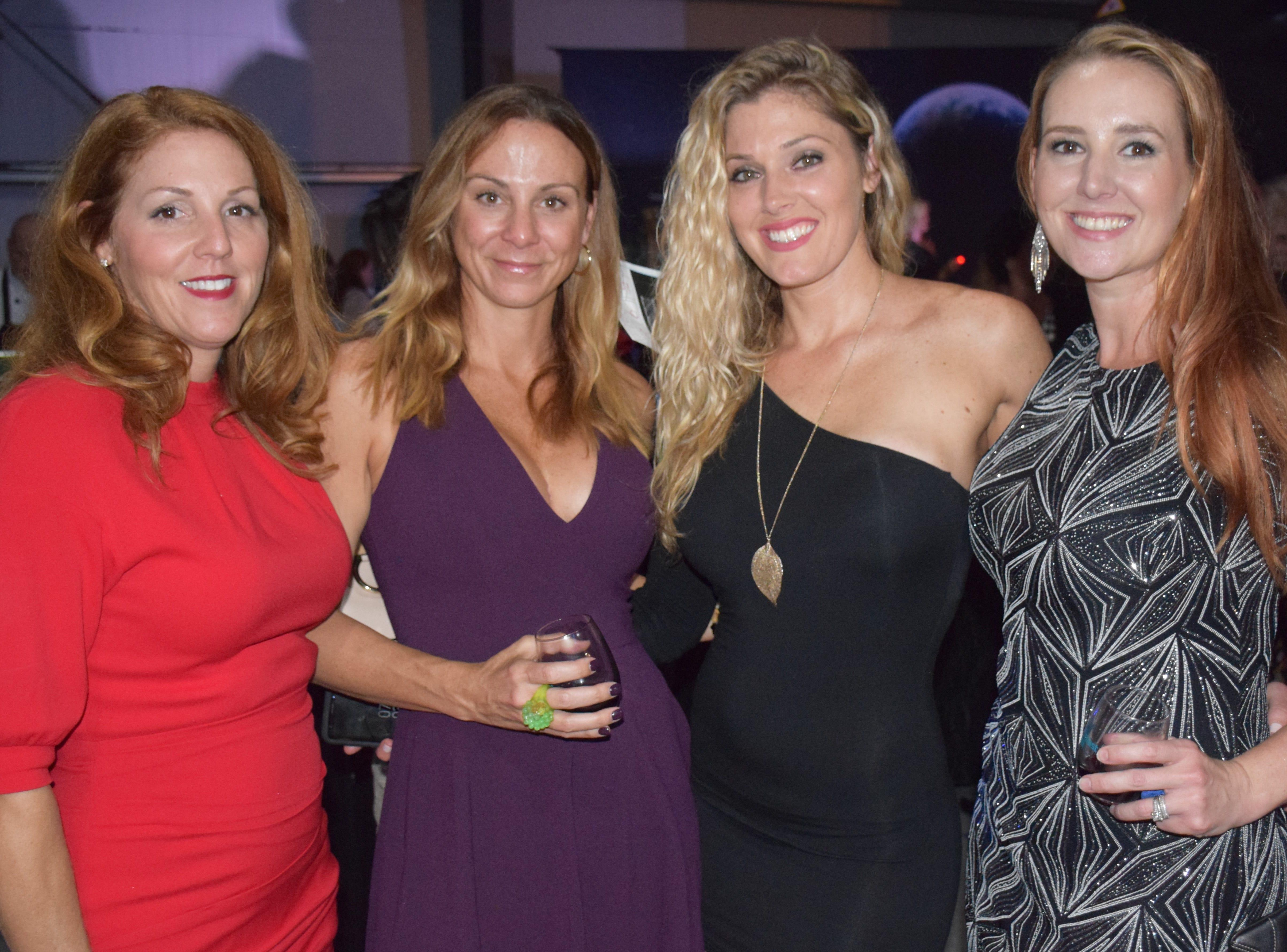 Nikki Bates, Melissa Holmes, Ashley French and Karen Meitner