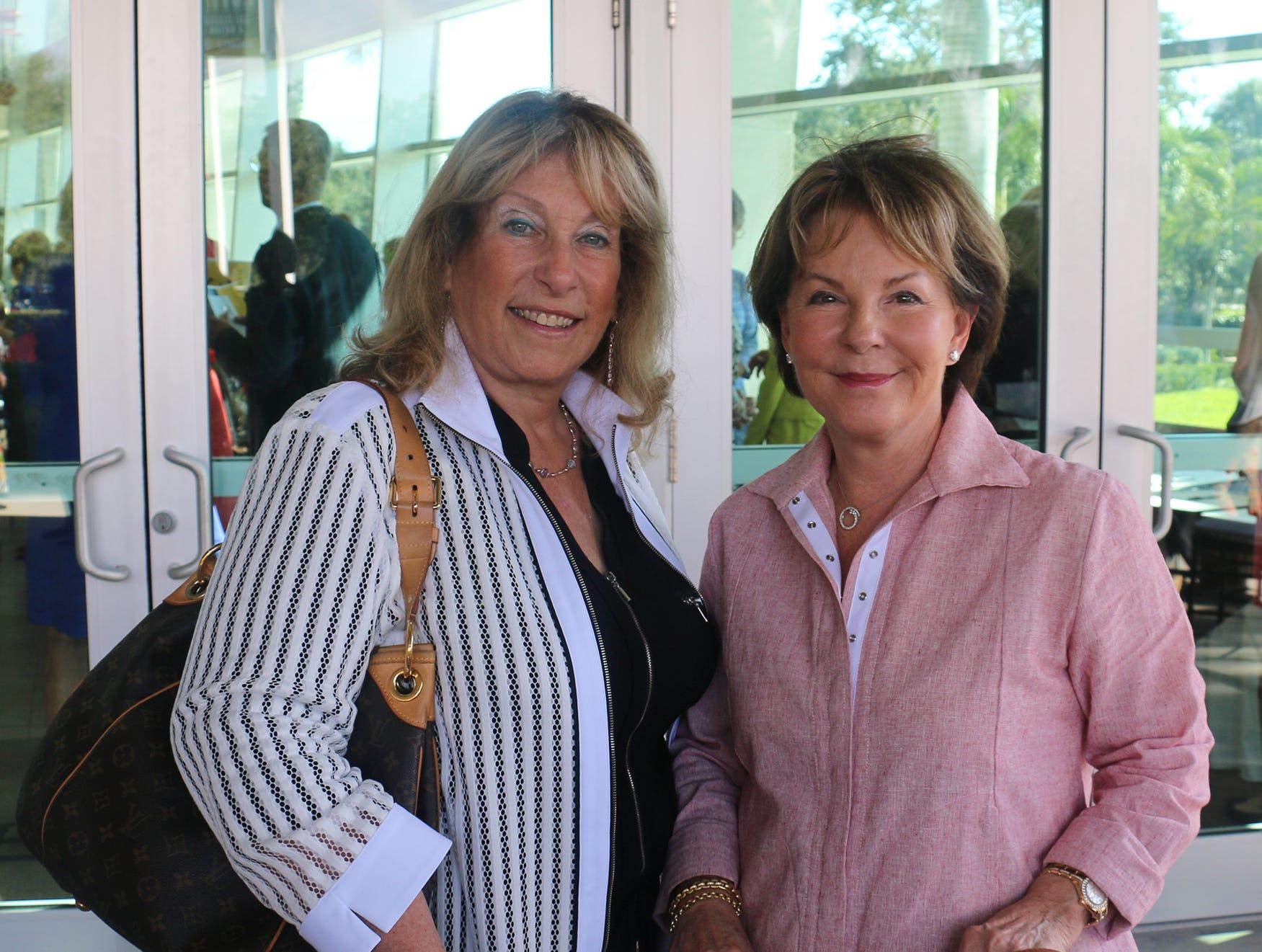 Bobbie Holt and Barbara Leigh