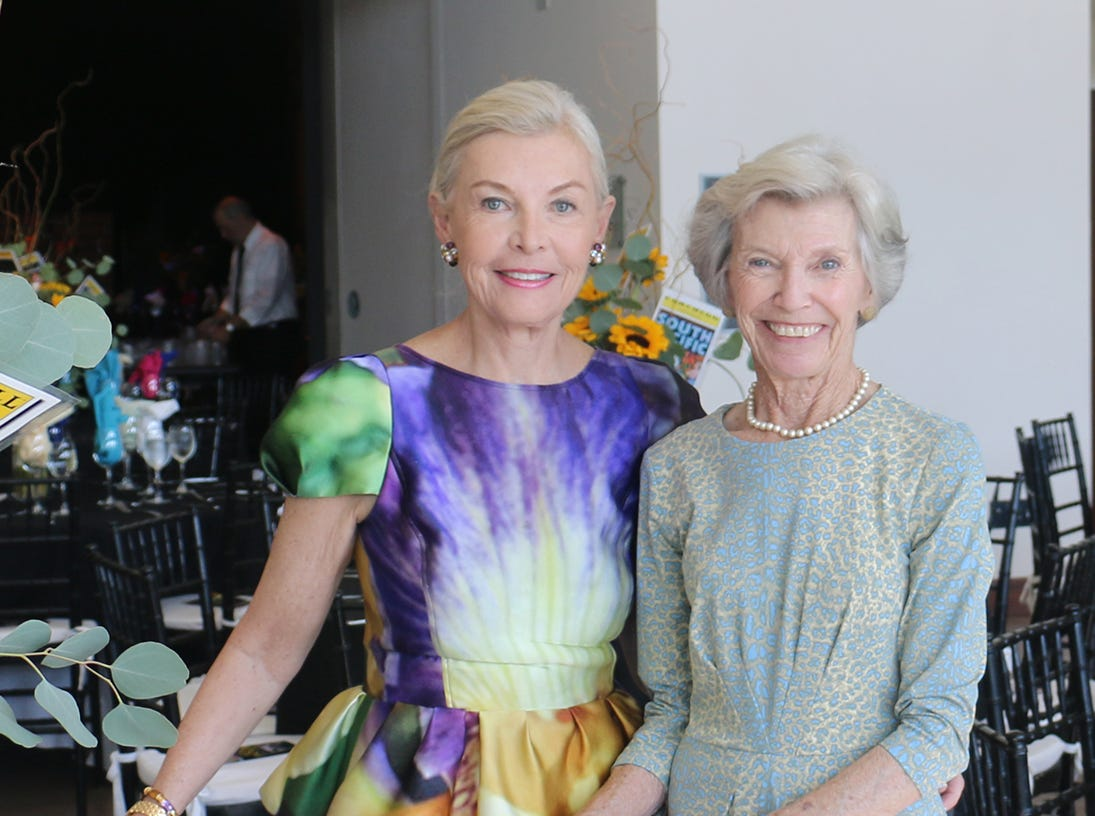 Gloria Anderson and Rosemary Haverland