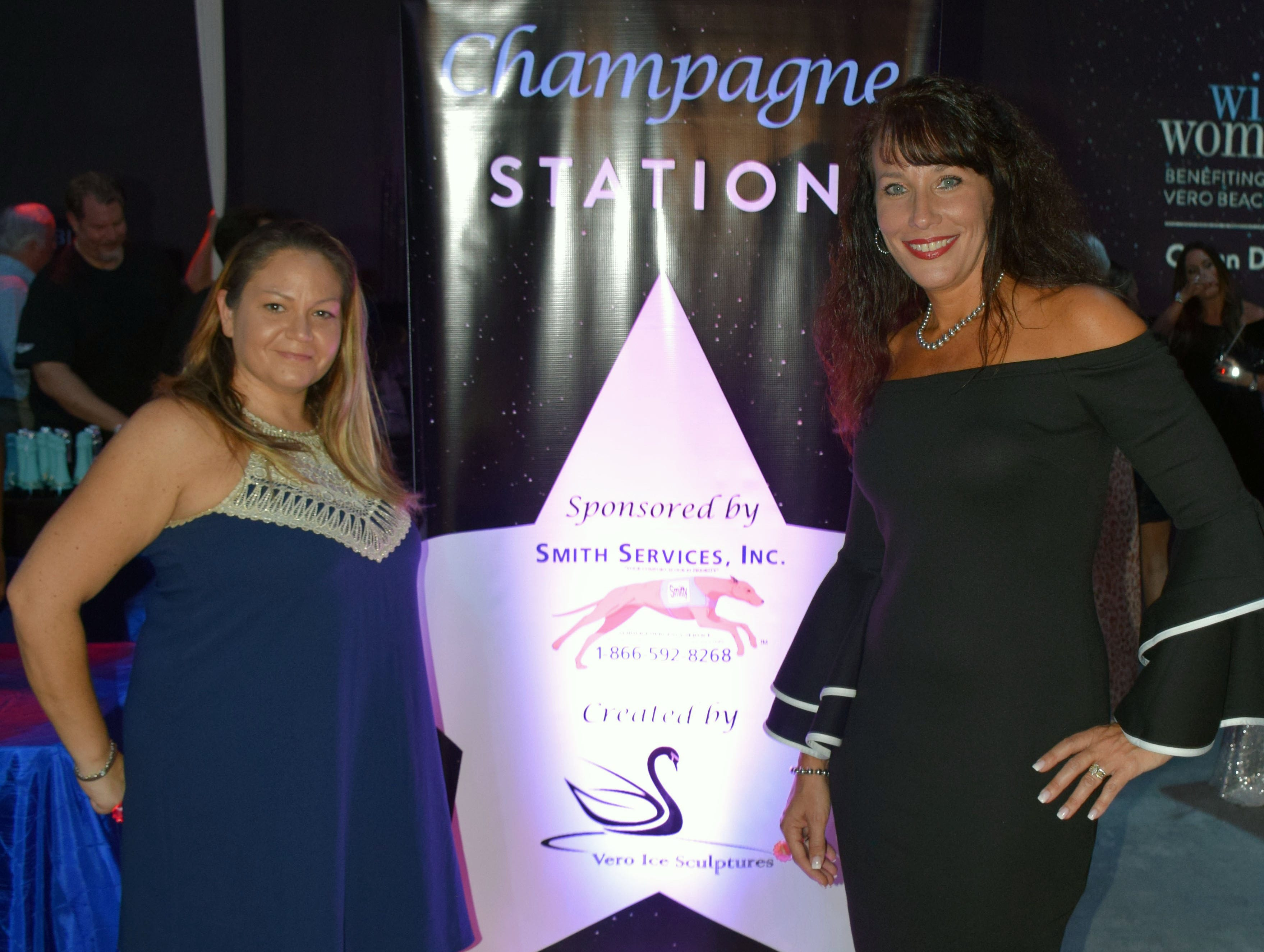 Sponsors Frances Brown and Kristine DeBlasio