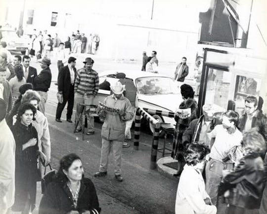 Nov. 22, 1963: The U.S.-Mexico border was closed as El Pasoans learned of President John F. Kennedy's death.