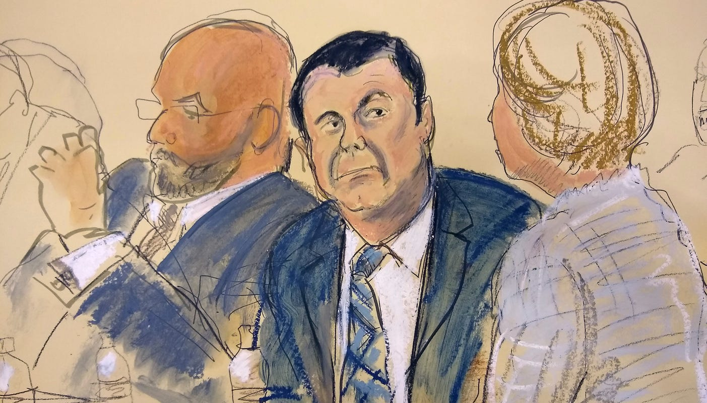 Analysis: 'El Chapo' trial shows wall won't keep drugs from US