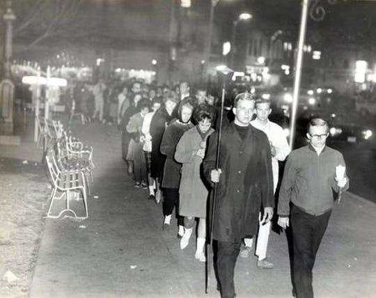 Nov. 22, 1963: El Pasoans learn of President John F. Kennedy's death.